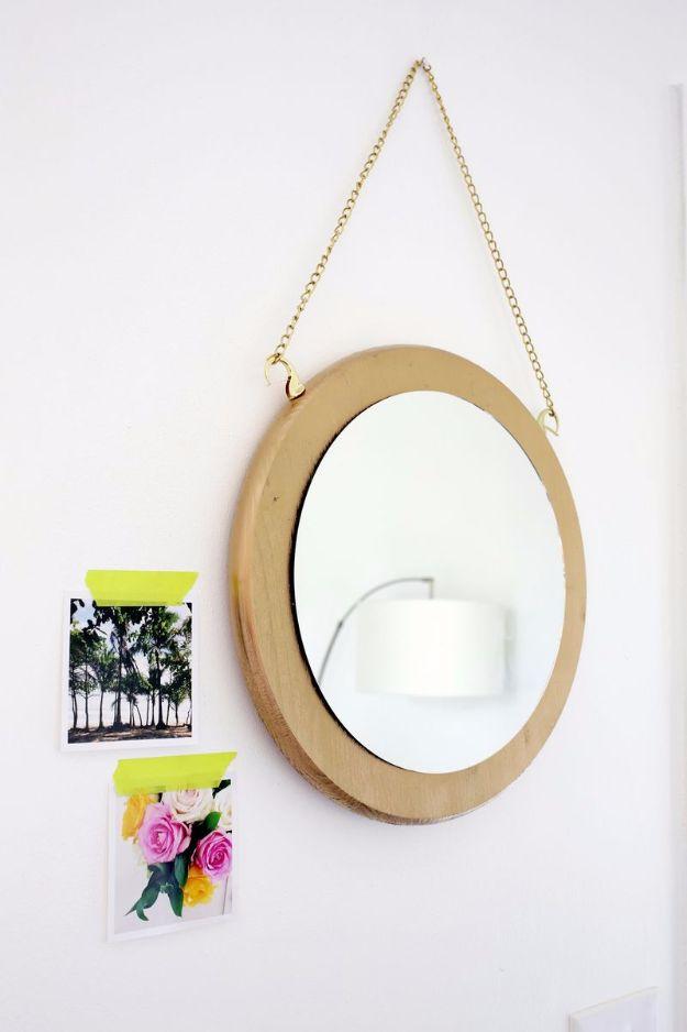 Circle Chain Mirror