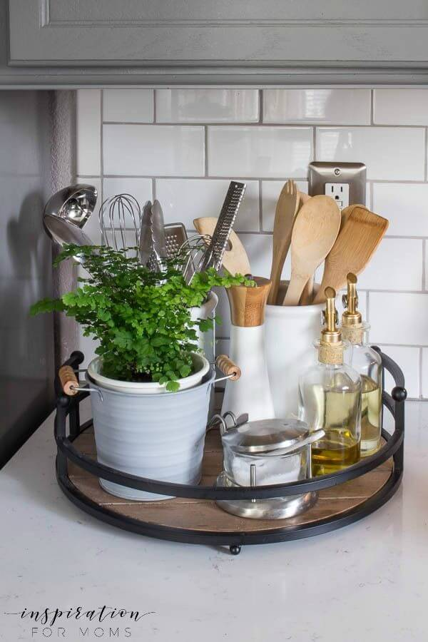 12 Best Kitchen Countertop Ideas To Be Well Organized ... on Countertop Decor  id=35229