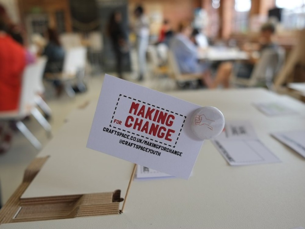 Making For Change: week-long pilot project