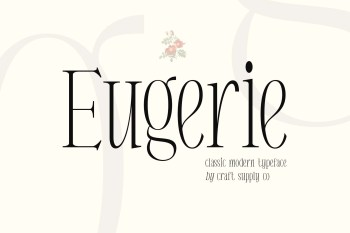 Eugerie Font Preview