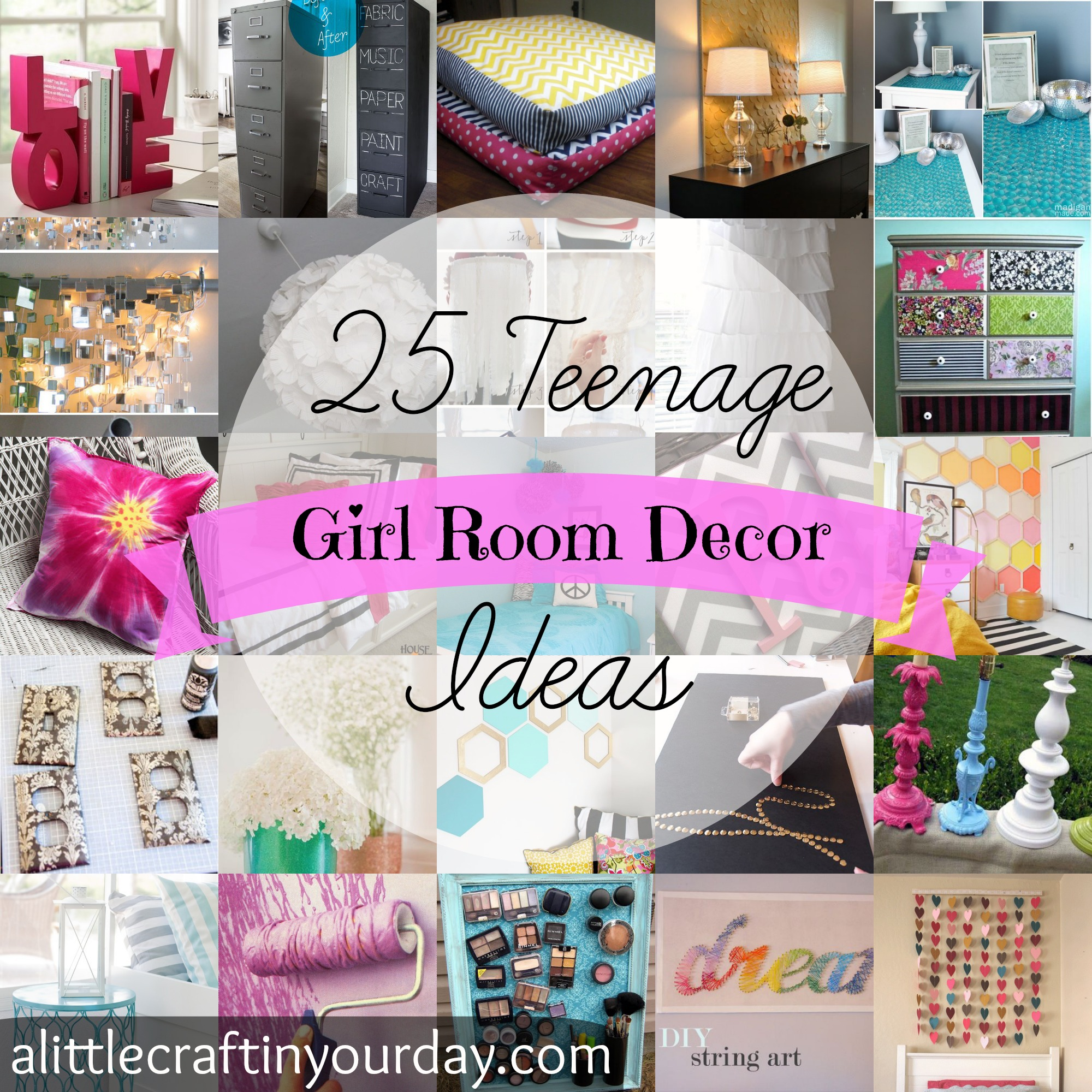 12 DIY Spring Room Decor Ideas - Craft Teen on Beautiful:9Ekmjwucuyu= Girls Room Decoration  id=64370