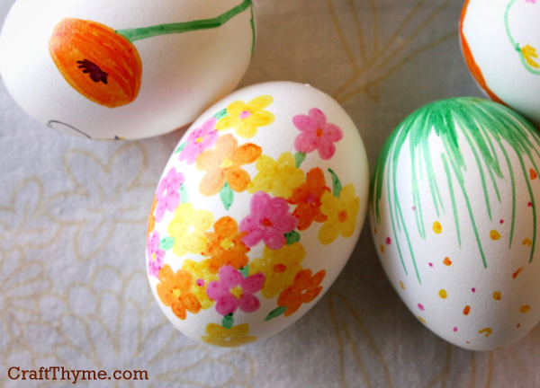 Easter Eggs that are Patterned