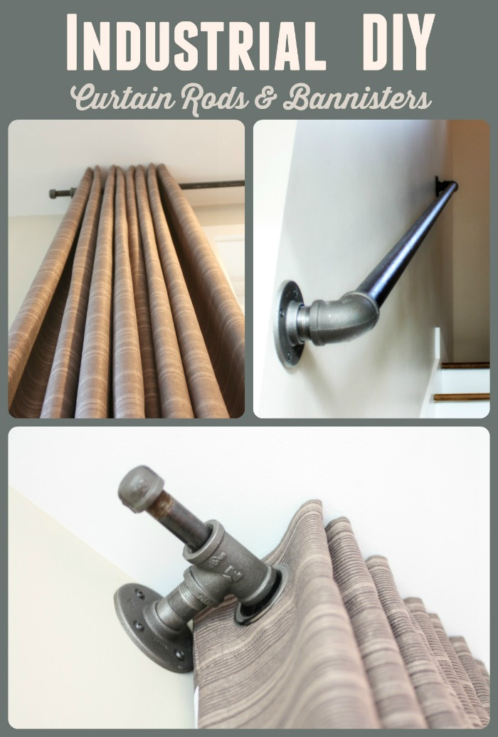Picture of: Industrial Decor With Black Iron Pipe Part Ii