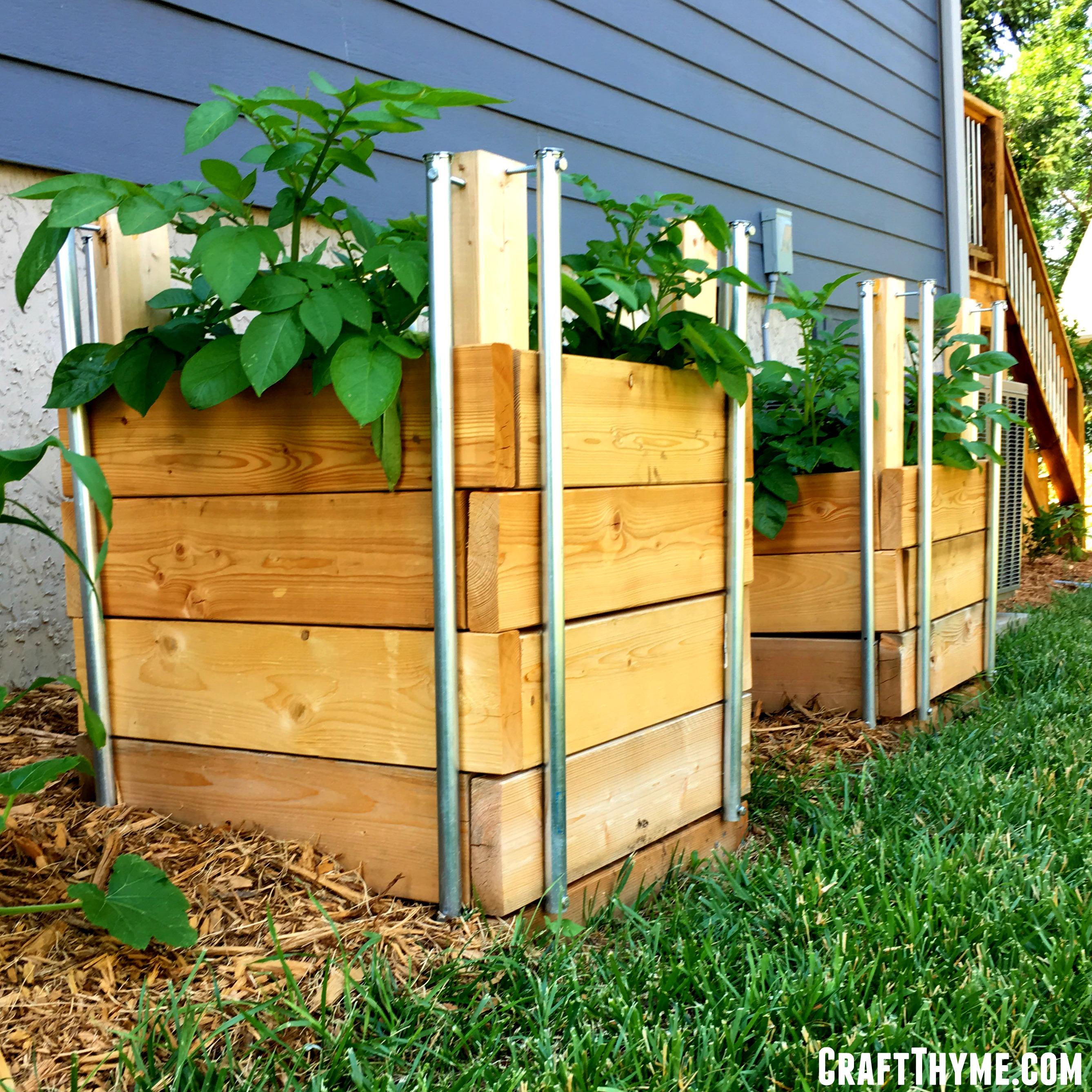How To Build Potato Boxes Craft Thyme
