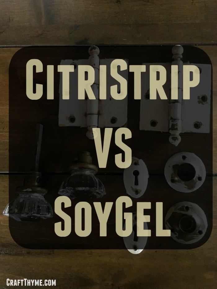 CitriStrip vs SoyGel