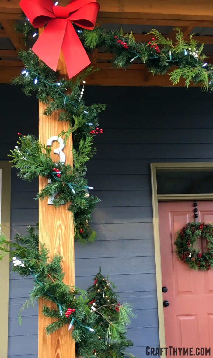 Cheap garland can look like the real thing with these tips and tricks