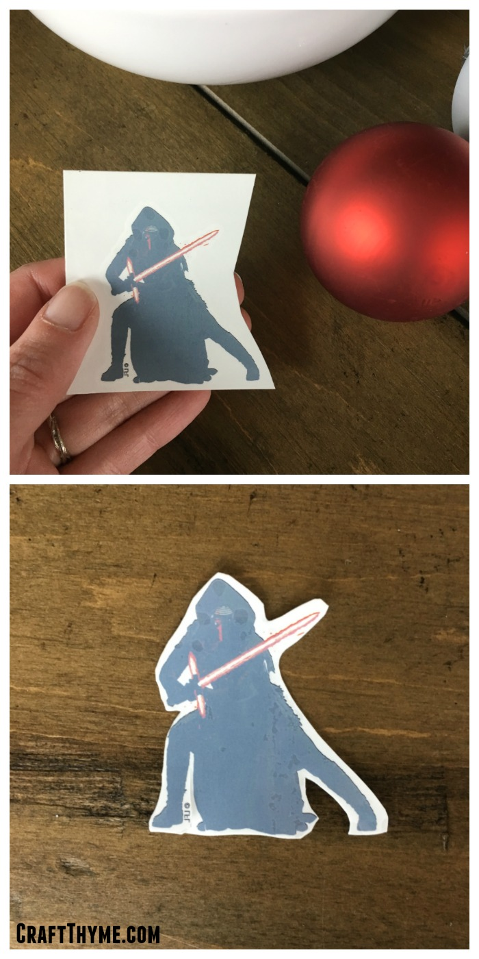 How to create Star Wars ornaments