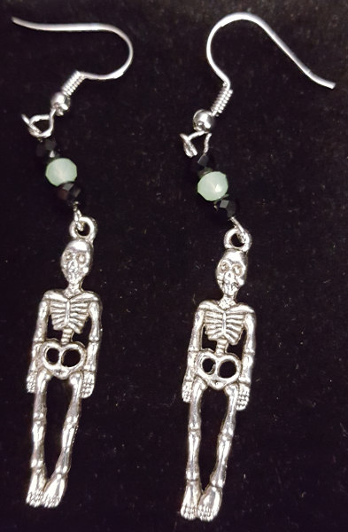 HAPPY HOUR: Skeleton Earrings @ Craft Warehouse @ Gresham Station | Gresham | Oregon | United States