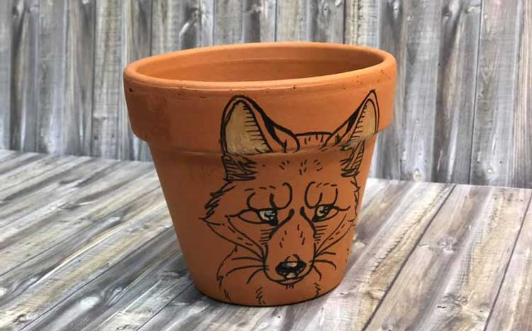 Terra Cotta Planter Painting @ Medford Location | Medford | Oregon | United States