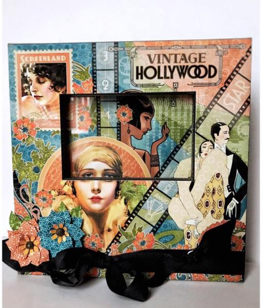 Graphic 45 project Vintage Hollywood
