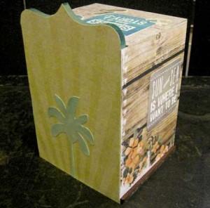 A Beach in a Box - Back