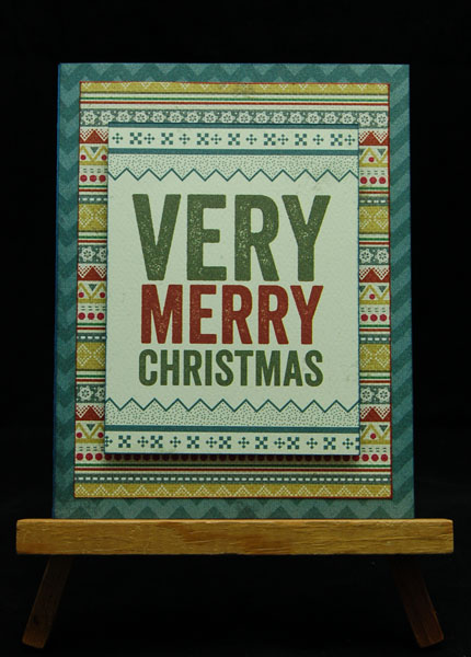 Authentique Christmas Cards