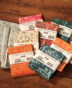 Batik Quilter's Fat Quarters
