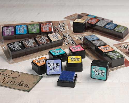 Mini Distress Ink Kits