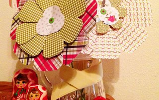 Flower Punch Board from We R Memory Keepers