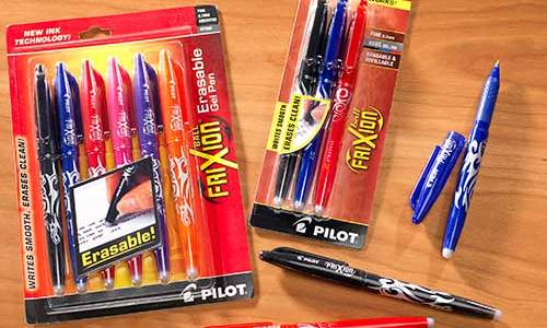 Frixion Erasable Marking Pens