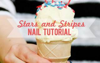Awesome Stars and Stripes Nail Tutorial