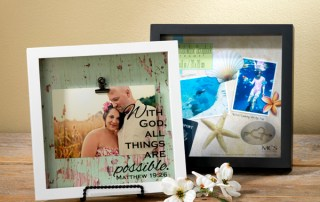 Custom Shadow Box Frames