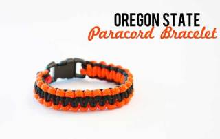 Oregon State Paracord Bracelet