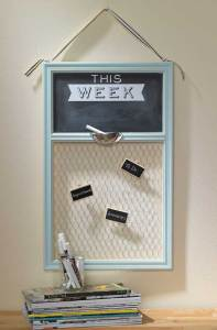 This Week Chalkboard Message Board