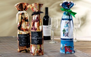 Fabric Wine Gift Bag
