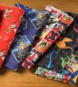 Children's novelty and Licensed cotton and flannel prints.