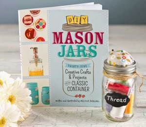 DIY Mason Jars Book, with 35 projects