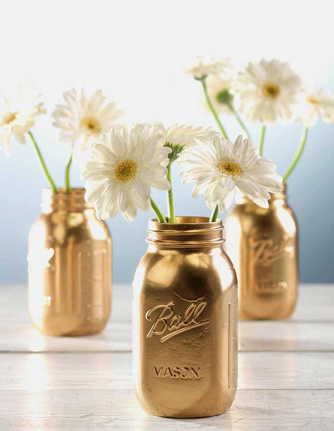 Good As Gold Mason Jars