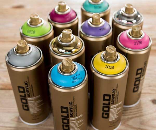 Montana Gold Label Spray Paint | Craft Warehouse