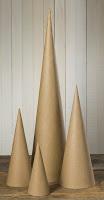 Paper Mache Cones- Blog