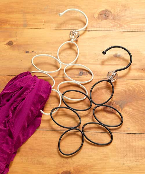 Six Scarf Hanger
