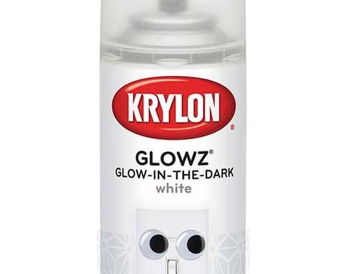 Glowz White Glow-in-the-Dark Spray Paint
