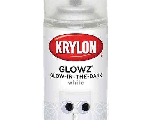 Glowz White Glow-in-the-Dark Spray Paint