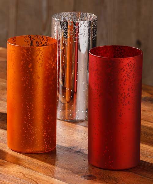 Mercury-Like Round Tall Cylinder