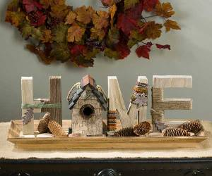 Letter Block Set - Home
