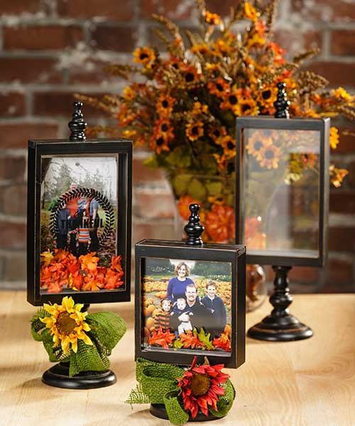 Pedestal Floating Shadow Boxes