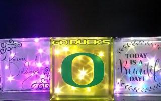 Glass Twinkle Blocks
