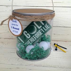 Golfer Gift Bucket