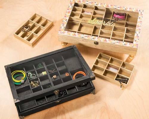 Jewelry Organizers – wood