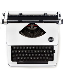 White We R Memory Keepers Typecast Typewriter available at Craft Warehouse