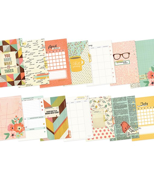 Reset Girl Planner Inserts at Craft Warehouse