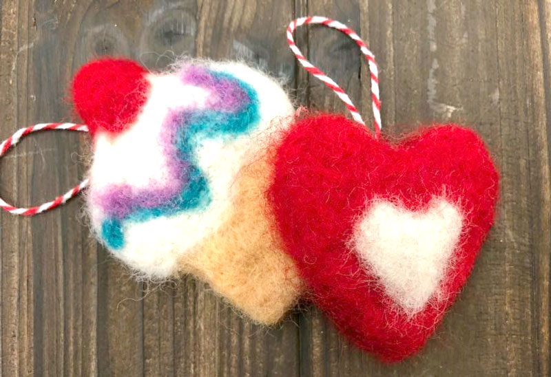 Felted Decoration