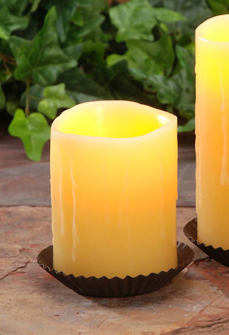 "electric flameless candle 4"" drip"