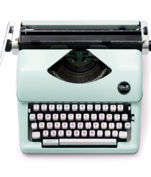 The Mint We R Memory Keepers Typecast Typewriter is sold at Craft Warehouse