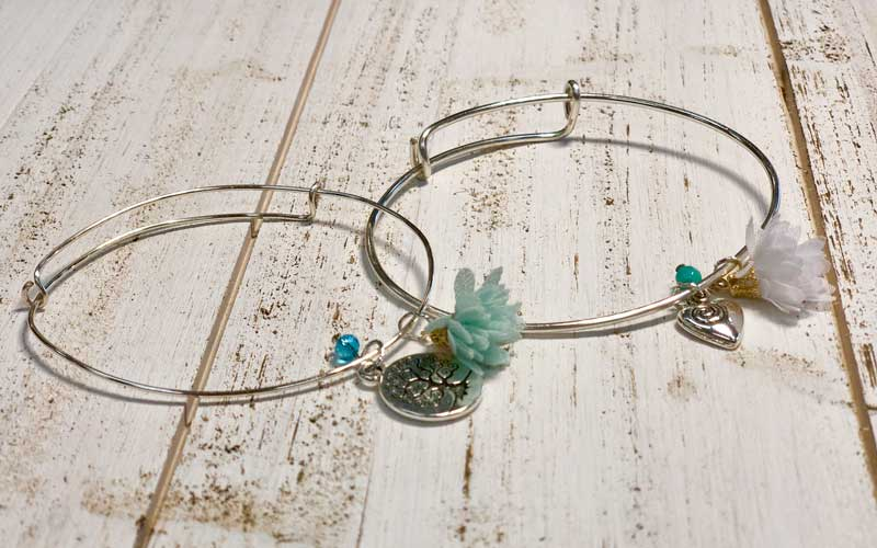 Adjustable Bangle Bracelet w/Charm @ All Locations | Medford | Oregon | United States
