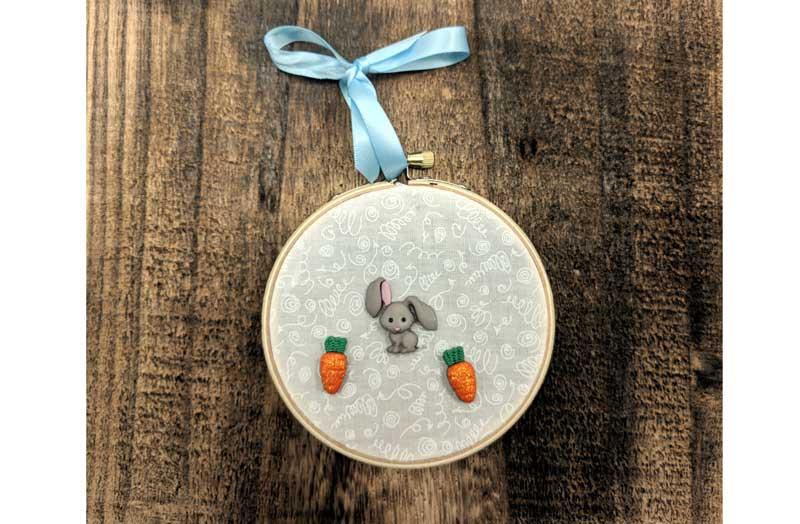 Spring Break: Button Hoop Art @ Craft Warehouse @ Gresham Station | Gresham | Oregon | United States