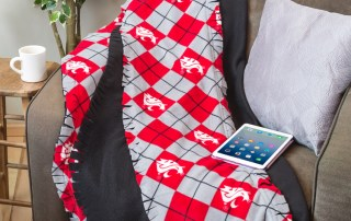 Make this College Team Blanket from Craft Warehouse