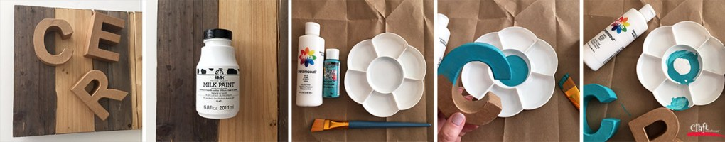 Make a Create Sign for your Craft Room at Craft Warehouse