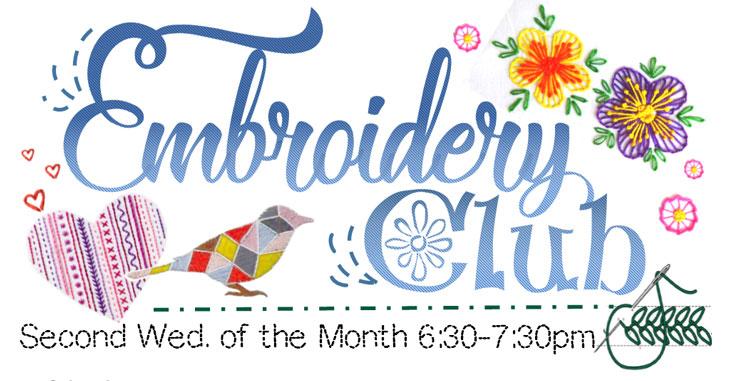 Embroidery Club @ Beaverton Location | Beaverton | Oregon | United States