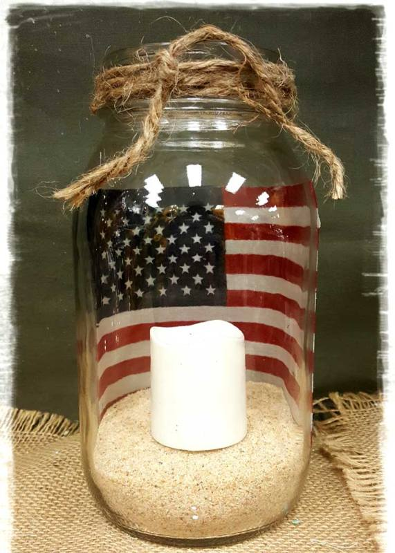 Flag Jar @ Meridian Location | Meridian | Idaho | United States